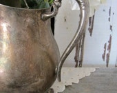 Vintage FB Rogers Silver Water Pitcher