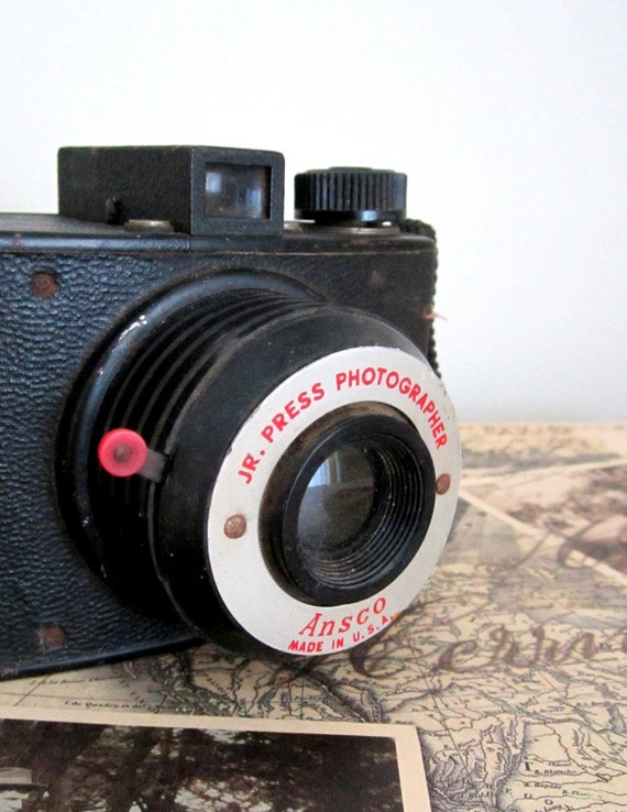 Reserve for Kelly - Ansco Jr. Press Photographer Camera