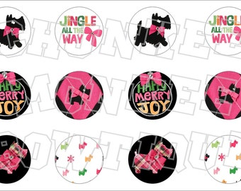 Made to Match Gymboree M2MG Cheery All The Way bottlecap image sheet