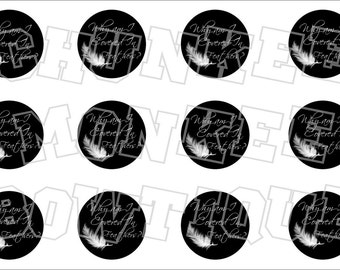 Why am I covered in feathers bottlecap image sheet