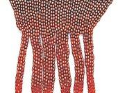 Wearable art beadwork jewelry,  I call TREMENDOUS  - needle bead weaving