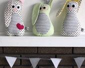 Peek-a-boo Bunny Pattern (PDF)