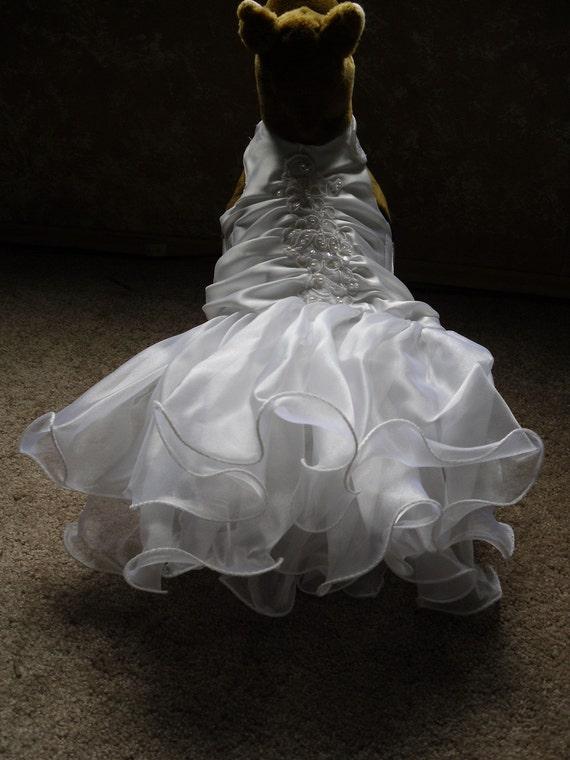 Sale 10off Dog Dress Dog Wedding Dress Tutu Tulle Dog Clothes
