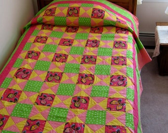 Girl's Butterfly Quilt