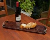 Wine Barrel Bread Board - Small