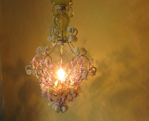 Lighting, Hanging Woodland Faerie, One of a Kind