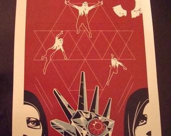 Logan's Run movie poster print