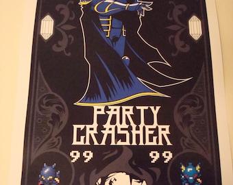 Final Fantasy IV Golbez poster print