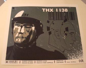 THX 1138 movie poster print