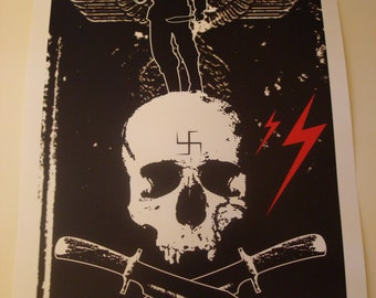Inglourious Basterds movie poster print
