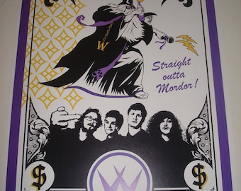 Workaholics the Wizards poster print