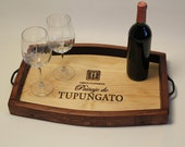 Crate & Wine Stave Serving Tray