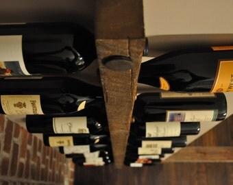 Tuscan Wine Rack 16 Bottle Ladder