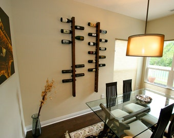 Dining room wall decor, 16 bottle Wine Racks, wine rack wall, wine racks wooden, wine racks for apartment, wining racking, wooden wine rack