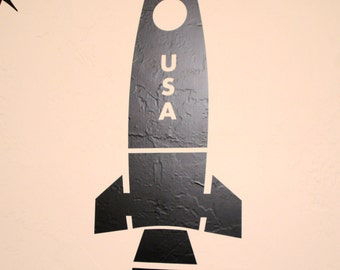 Space Rocket - Wall Decal