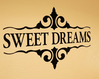 Sweet Dreams - Wall Decal
