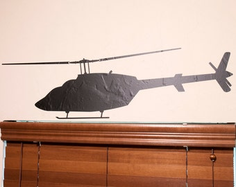 JetRanger Helicopter 1 - Wall Decal