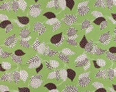 SALE - Flea Market Fancy - Green Leaf and Dot by Denyse Schmidt from Free Spirit