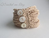 PATTERN for Crochet Bangle Bracelet