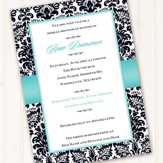 Wedding Invitations Thank You Cards Bridal Shower