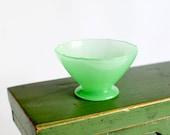 RESERVED for DOLLY TRUNK : Vintage Jadeite Sherbet Dishes