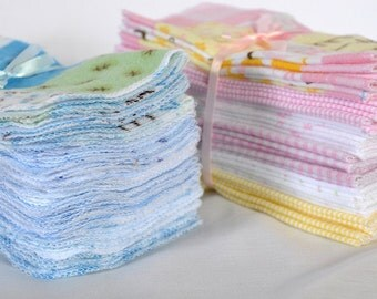 Cloth Baby Wipes - 2 Dozen Reusable Eco Friendly Baby Wipes.