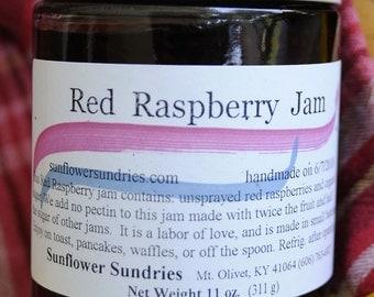 Wild Red Raspberry Jam