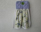 Bloom in Blue Dish Towel Pot Holder - Item 3007