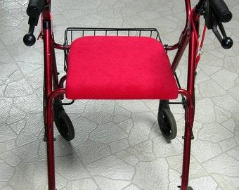 Rolling Walker Seat Cover