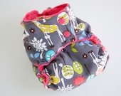 AI2 OS Cloth Diaper made to order- choice of lay in or snap in soaker
