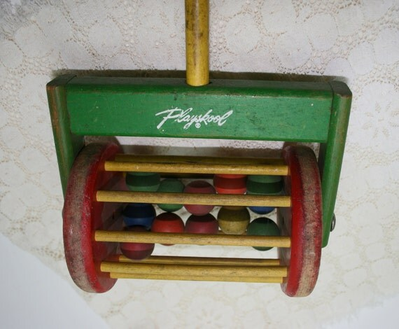 Playskool Push Toy,  Wooden