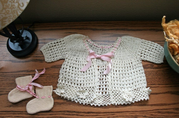 Baby Clothes, Knit and Crochet, Girl