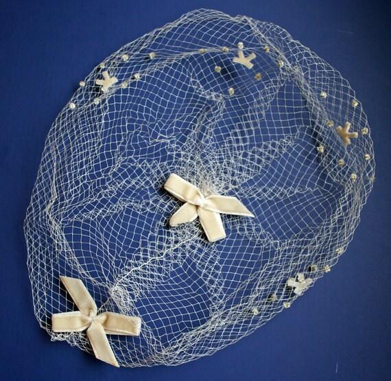 Netting, Hat, Vintage Millinery