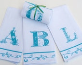 Monogram Guest Towels