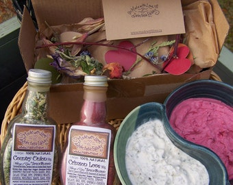 Two Artisan Spice Blends - Gourmet Goodies Foodie Gift Set - Spice Blend Gift under 25 - Organic Food Market - Herbs & Spices - Food Gift