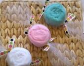Oh So Sweet Baby Washcloth Candies Set Of Three,Half An Order