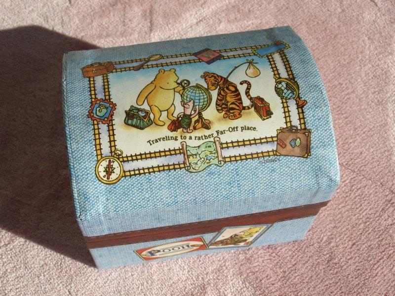 Vintage Winnie The Pooh Jewelry Box
