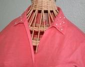 Pretty Pin-Up - Vintage Cardigan - Salmon - Medium - Sweater Girl - VLV