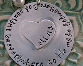 Hand Stamped Jewelry - Personalized Jewelry - Godmother Necklace - Godmother Gift