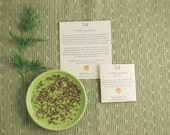 Organic Herb Garden Kit - Organic Heirloom Culinary Herb Seeds