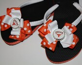 Texas Longhorns Flip Flops - Many schools available