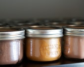8 oz Flat Mason Jar Soy Candle- Any two (2)  You Pick the Scent