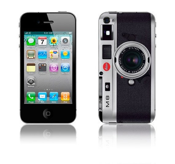 iPhone 4 Skin: Leica M8 Camera Decal