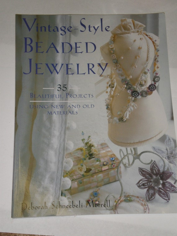 vintage style beaded jewelry book