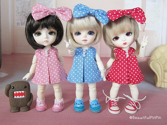 Lati yellow / Pukifee : Love Polka dot dress
