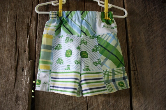 Infants John Deere Shorts-6 mon, 12 mon, 2t, 3t, 4t
