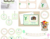 Pixie Dust Fairy Party - Starter COLLECTION - DIY Party Printables - Digital Download and Print