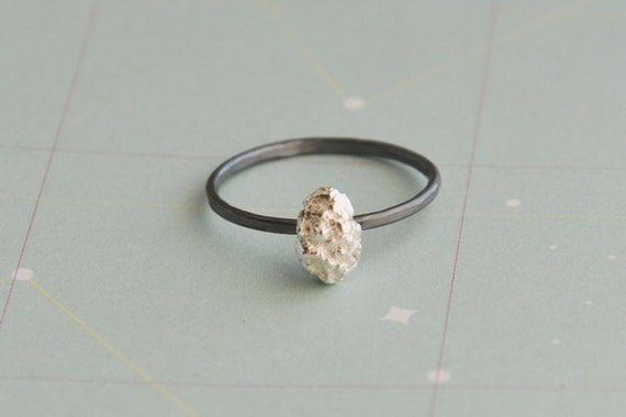 cosmos ring sterling silver