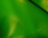 Softest Italian Lambskin Lamb Leather Lime Green  6-7 sq. ft. -  All colors and all quantities available