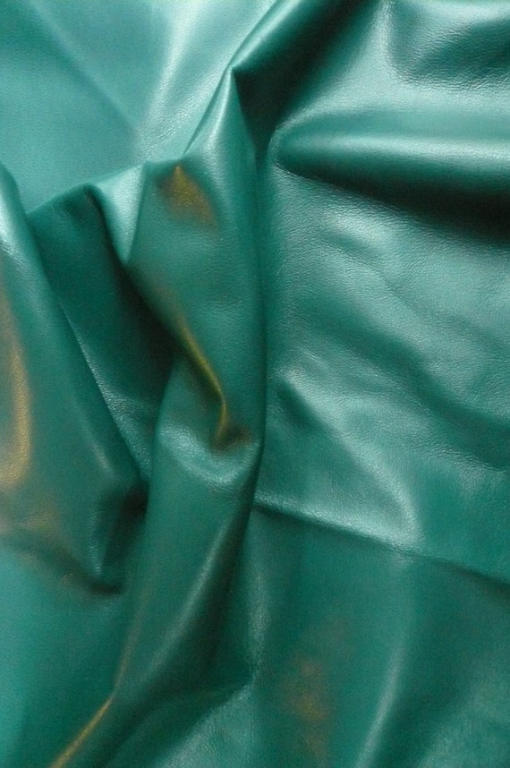 Softest Italian Lambskin Lamb Leather Teal  6-7 sq. ft. -  All colors and all quantities available